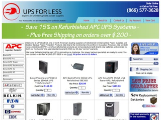 UPSforLess / KMZ Industries